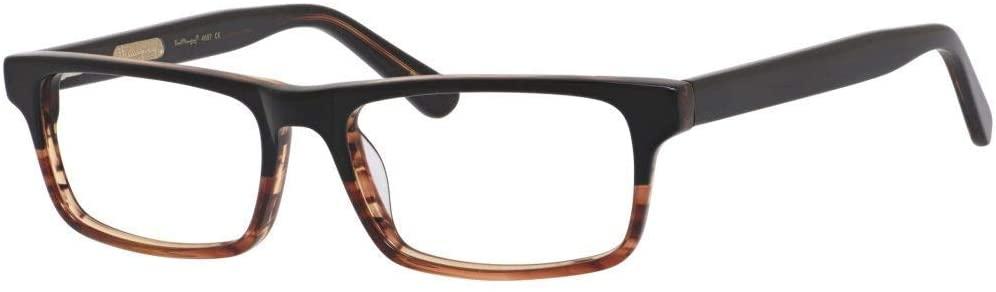 Hemingway H4687 Unisex Eyeglasses Blue Light Blocking Filter+A/R Lenses Brown 54 mm