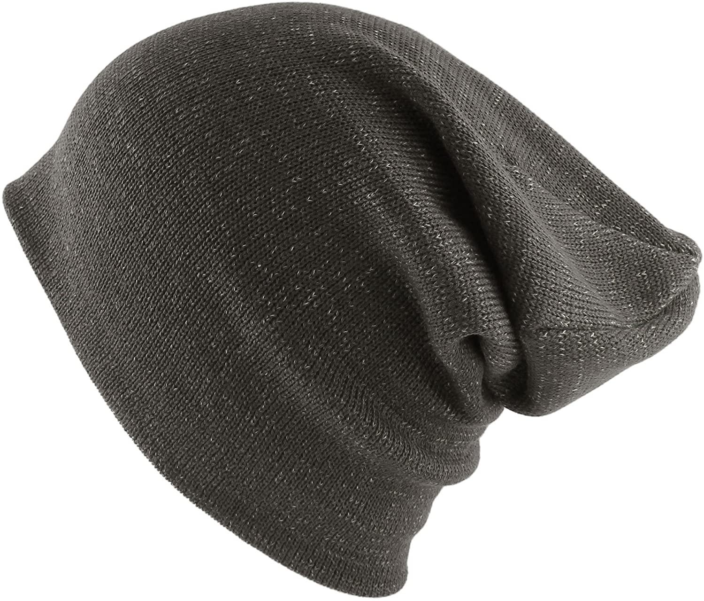 Morehats Cotton Two Tone Slouchy Ski Skater Hip-hop Beanie Hat