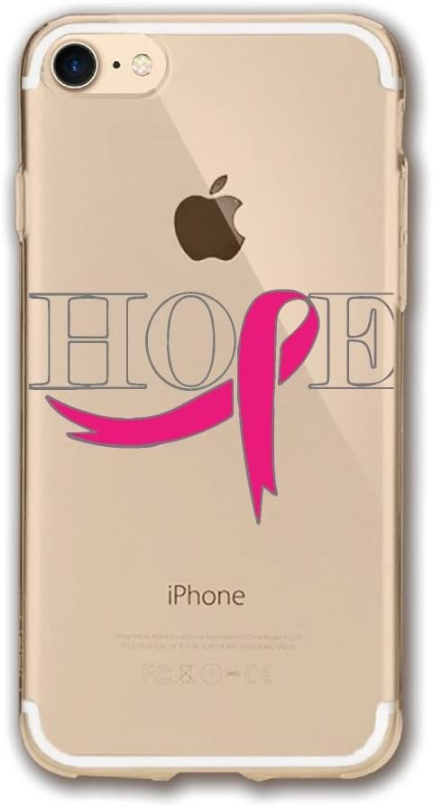 Breast Cancer Flag IPhone 7 Case,iPhone 8 Case Printing Cell Phone Shell