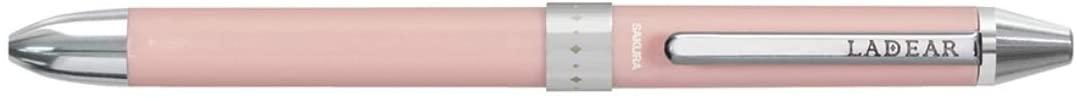 Sakura Ballsign LADEAR, Rotary 3-Color Ballpoint Pen, Salmon Pink Body (GB3L1504#120)