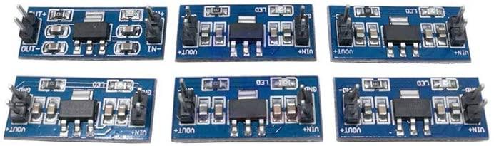 5PCS/Lot SMD AMS1117 DC-DC Step Down Buck Converter Power Supply Module DC 4.75-12V to 1.2V 1.5V 1.8V 2.5V 3.3V 5.0V,1.8V