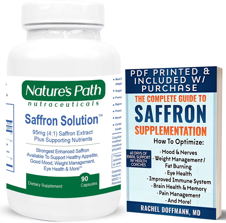 Best Saffron Supplement Pills 95mg Saffron Extract Most Potent Strongest Saffron Supplement Capsules Anywhere