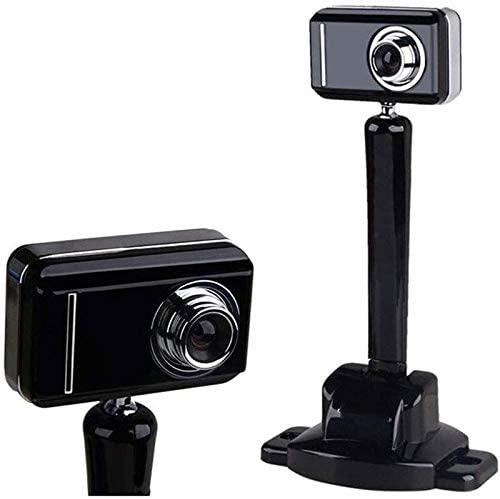 CttiuliSxt Webcam, 1080P Webcam, Desktop Laptop Webcam Mini Webcam Live Streaming Camera, Flexible Rotatable Clip, for Laptops, Desktop and Gaming, Black Suitable for Home, Computer Equipment