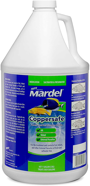 Fritz Aquatics Mardel Copper Safe Treats, 1-Gallon