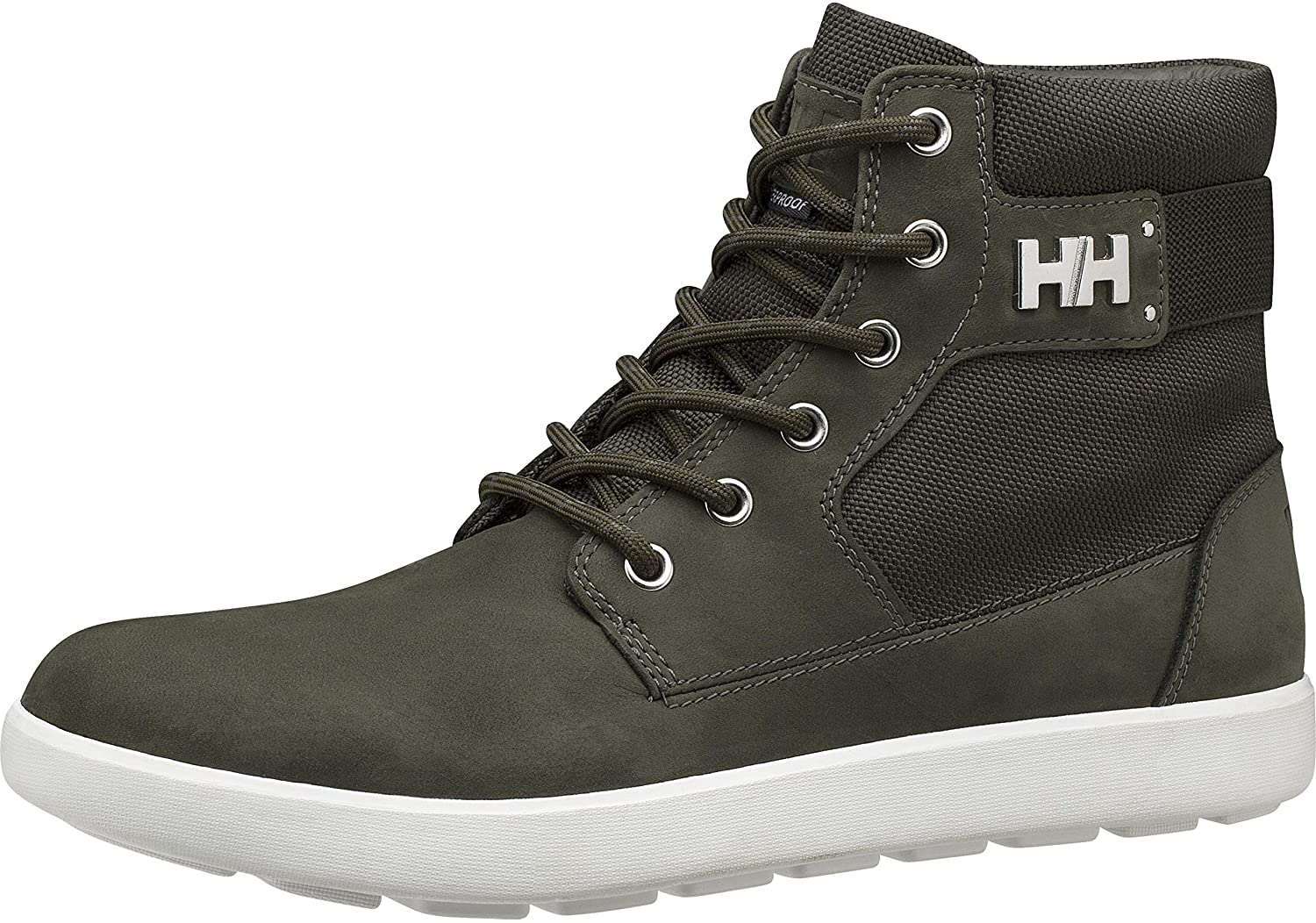 Helly-Hansen Women's Stockholm 2 Sneaker-Boot, 489 Forest Night/Off White, 6.5