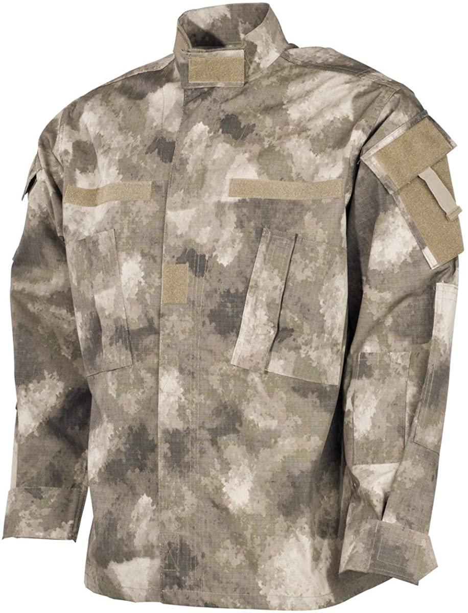 MFH Men's US ACU Ripstop Field Jacket HDT Camo AU