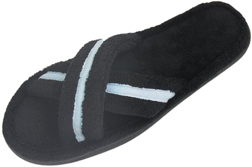 Home Slipper Women's Coral Fleece Warm Indoor House Fun Flip Flop Slippers Shoes