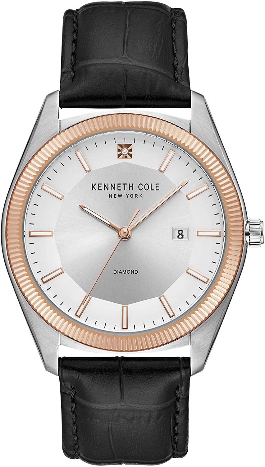 Kenneth Cole New York Classic Diamond Dial Men's Watch