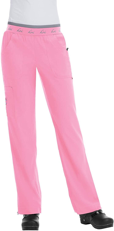 KOI Lite 720 Women's Spirit Scrub Pant More Pink L