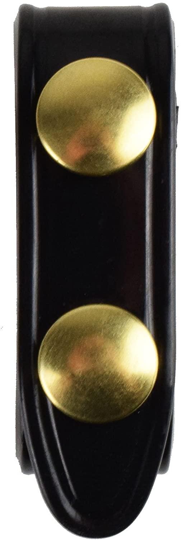 Safariland Duty Gear Brass Snap Belt Keeper (4PACK) (Plain Black)