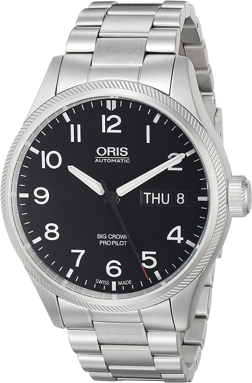 Oris Men's 75276984164MB Big Crown Analog Display Swiss Automatic Silver Watch