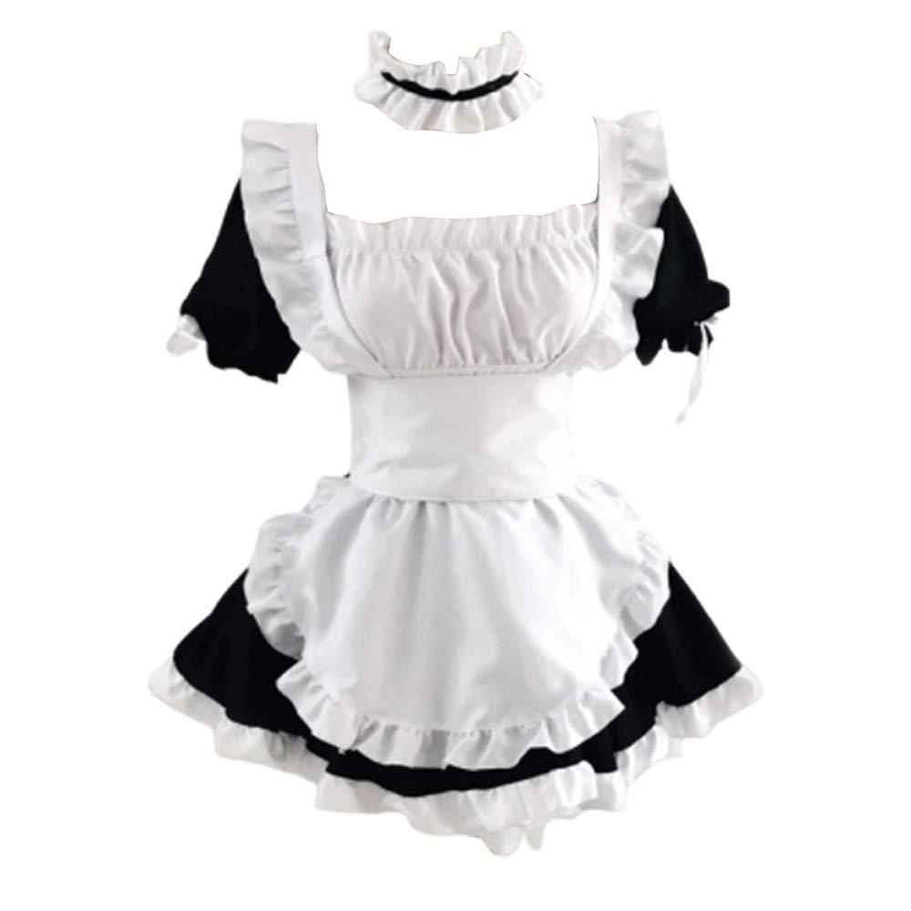 Women Sexy Cosplay Outfits-Kasugano Sora/Lolita/Maid Anime Role Play Fancy Dress Up Uniform