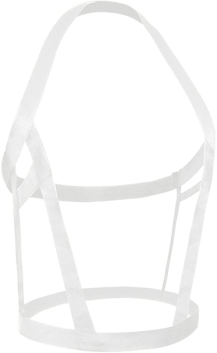 YiZYiF Men's Nylon Lingerie Chest Harness Body Belt Costume Lingerie Underwear