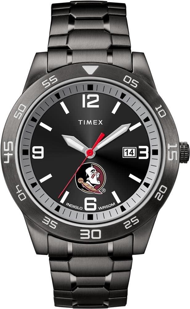 Timex FSU Florida State University Men's Black Acclaim Watch