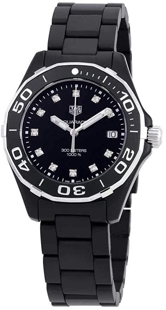 TAG Heuer Aquaracer Matte Black Ceramic 35mm Watch WAY1397.BH0743