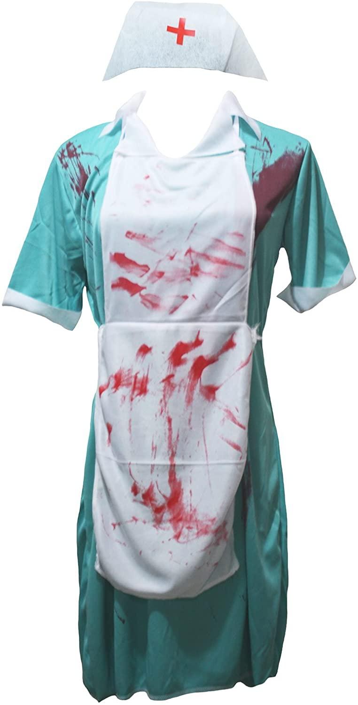 Petitebella Bloody Nurse Lady Costume