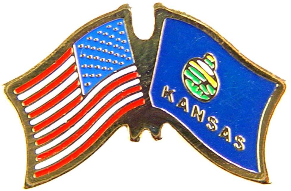 Kansas/USA Flag 1