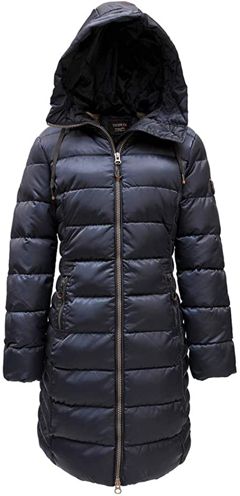 N.A Womens Resistance Water Winter Parka Puffer Jacket with Hood