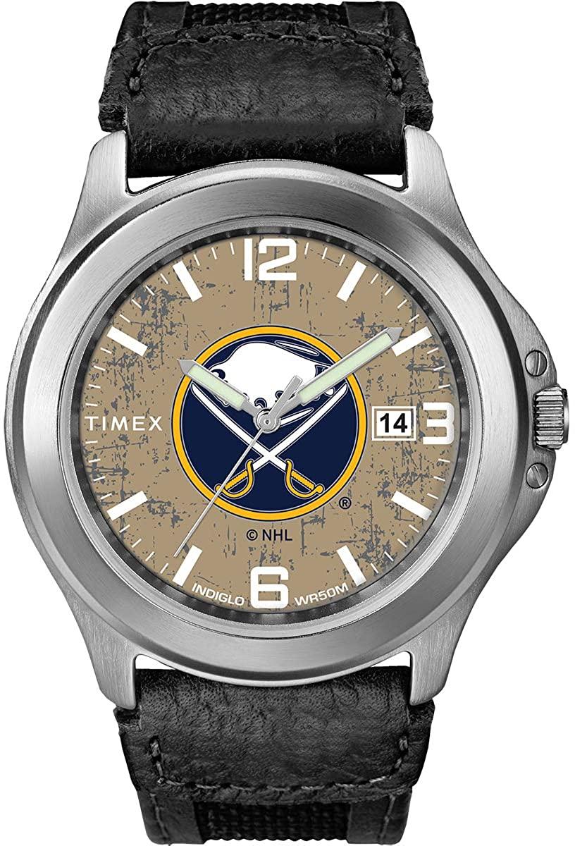Timex Men's TWZHSABMC NHL Old School Buffalo Sabres Watch