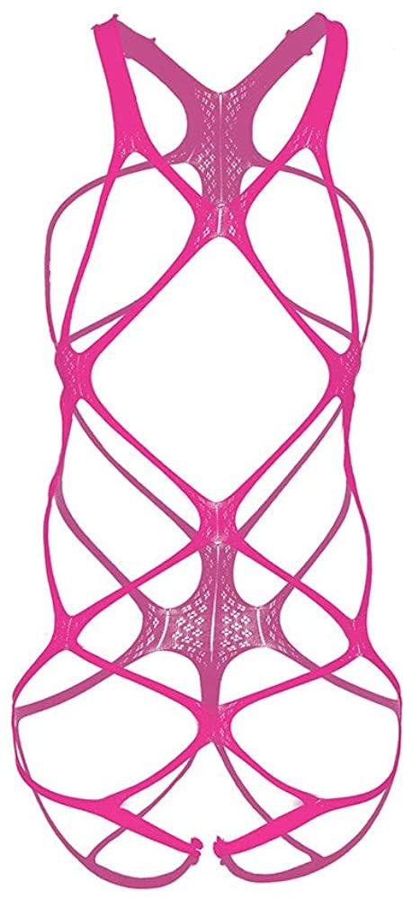 JAZZUP Women Fishnet Bodystocking Bodysuit Babydoll Lingerie High Elasticity Sleepwear Tight Nightwear Sexy Lingerie