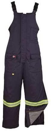 Bib Overalls, Navy, Cotton/Nylon