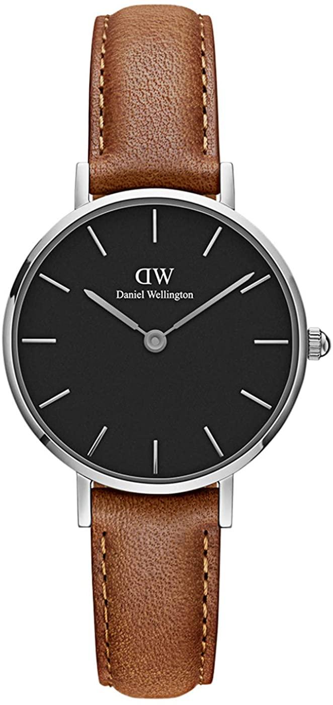 Daniel Wellington Petite Durham Watch, American Brown Leather Band