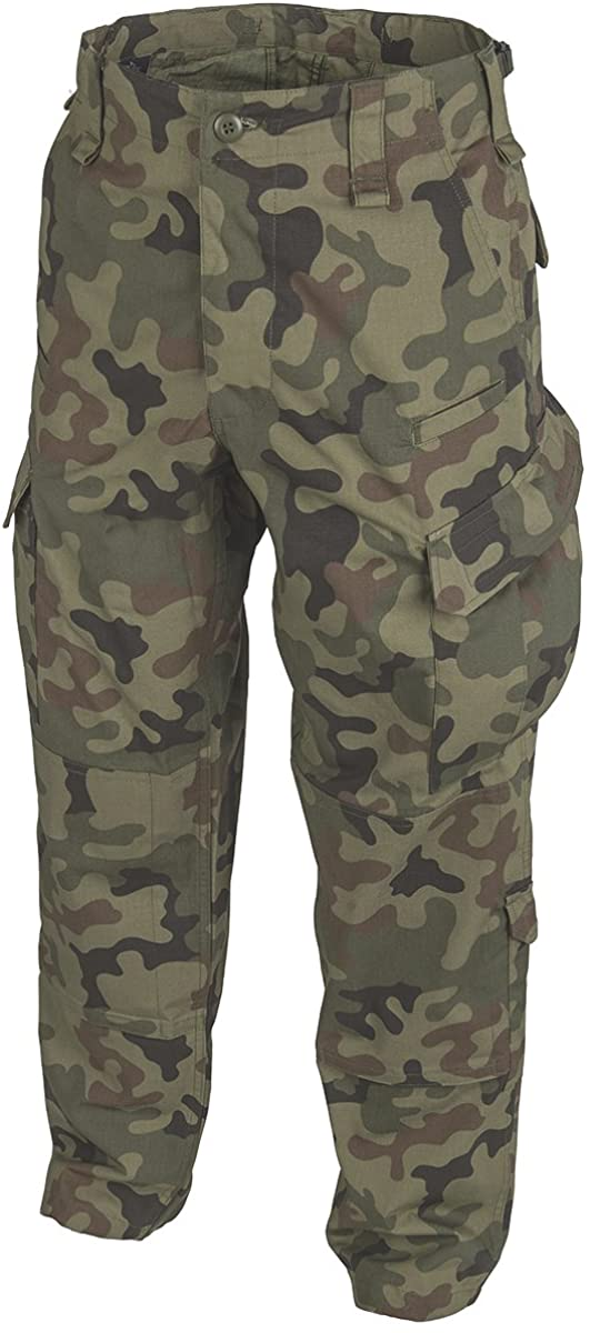 Helikon-Tex Men's CPU Trousers PL Woodland Polycotton R/S Size XS Long