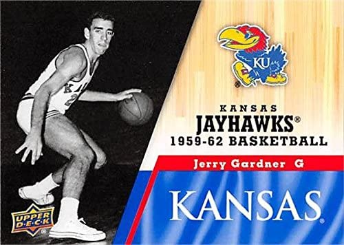Jerry Gardner Basketball Card (Kansas Jayhawks, 1959-1962) 2013 Upper Deck #21
