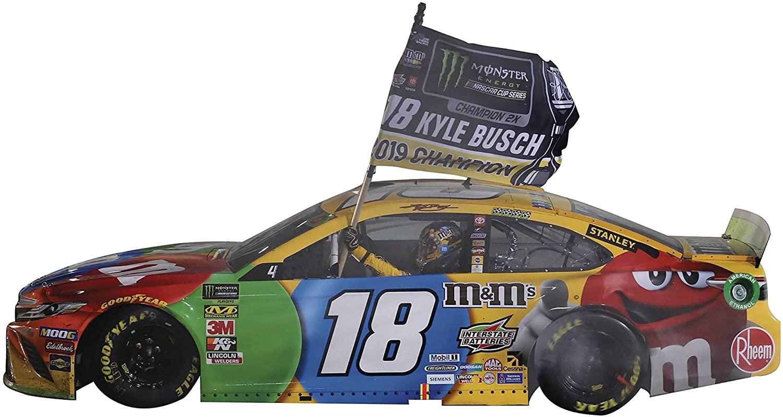NASCAR Cup ECOBOOST 400 Busch M&M 1/24 HO CAR