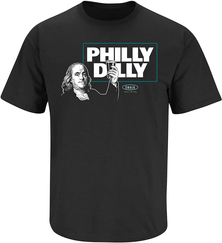 Smack Apparel Philadelphia Football Fans. Philly Dilly T-Shirt (Sm-5X)