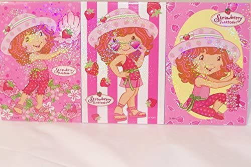 ONESTOPBIRTHDAY Strawberry Shortcake Notepads 30 Pages