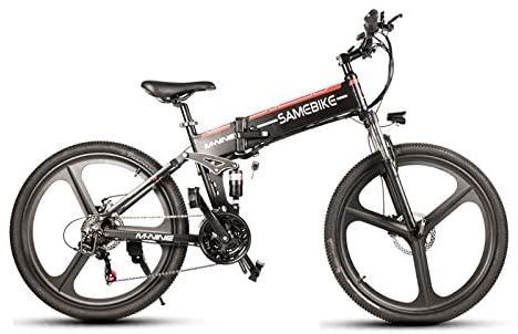 SHIJING LO26 350W Moped Electric Bike Smart Folding Bike 10.4Ah 48V 30km/h Max Speed Light