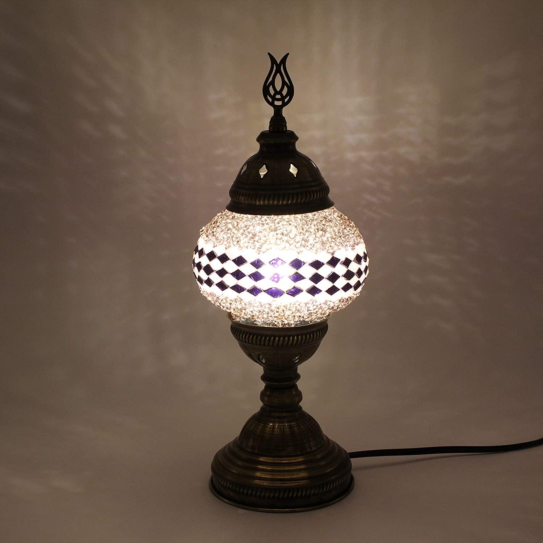 Sudamlasibazaar - Turkish Morroccan Table Lamp, Desk Lamp, Bedside Lamp, Tifanny Lamp, Mosaic Lamp, Mosaic Table Lamp