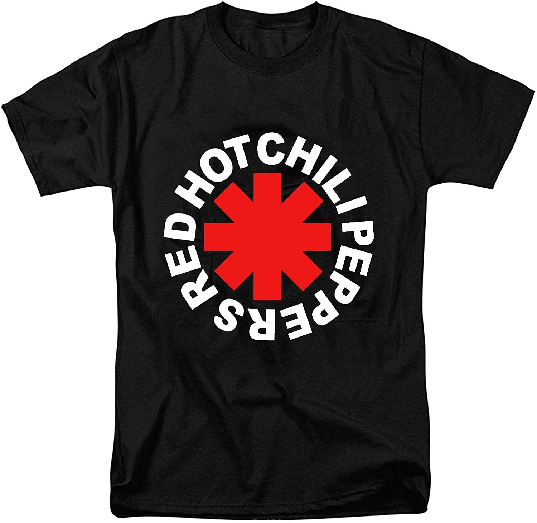 Men's Red Hot Chili Peppers Asterik Logo T-Shirt