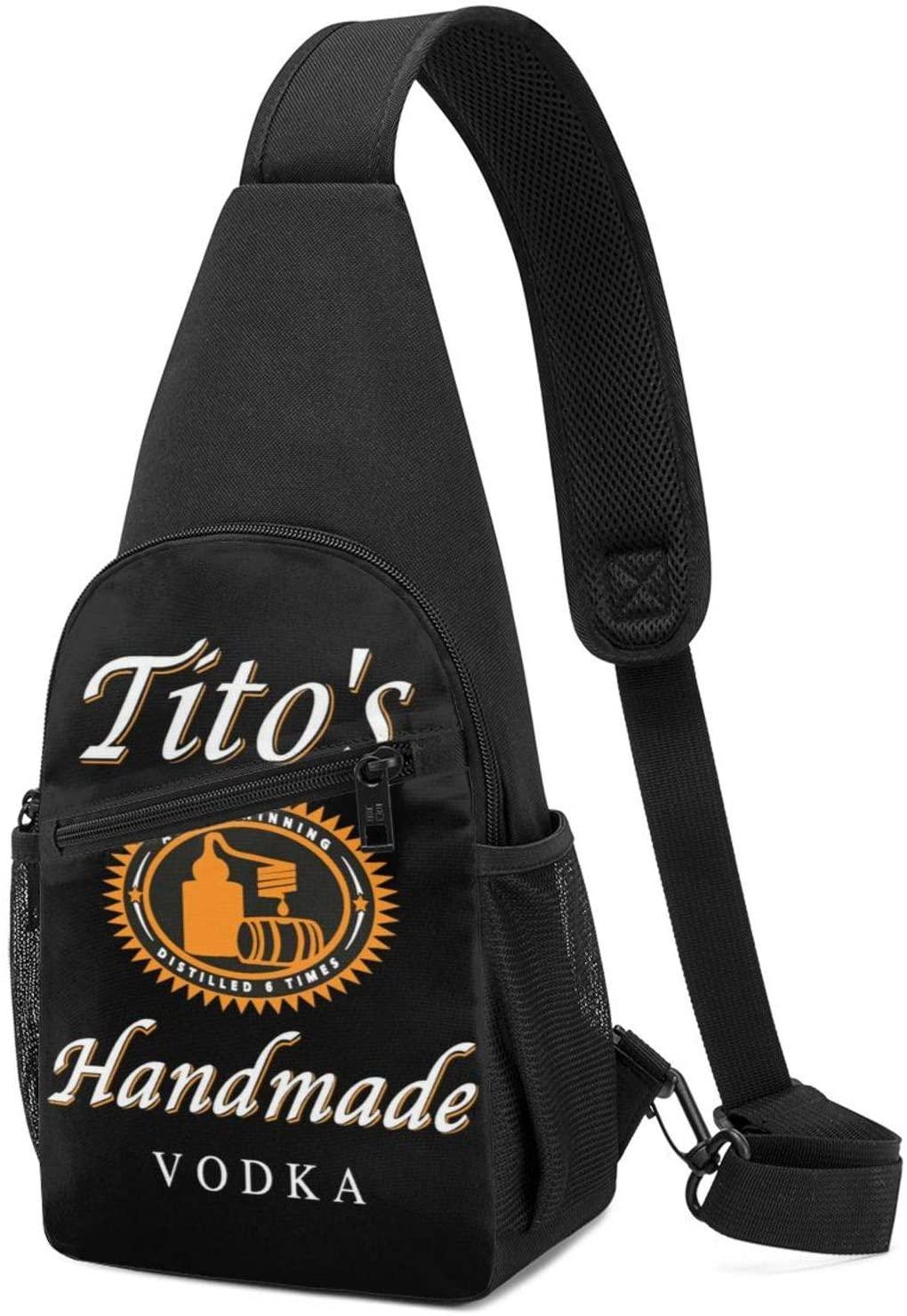 Tito'S Handmade Vodka Sling Bag Chest Bag Shoulder Backpack Cross Body