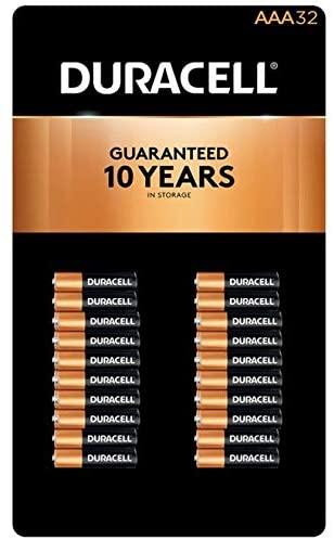 Evaxo Alkaline AAA Batteries, 32 ct .#B
