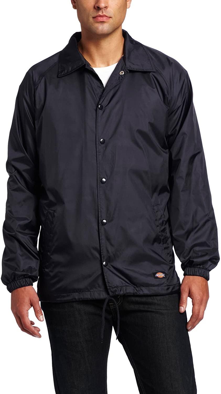 Dickies Men's Snap-Front Nylon Jacket