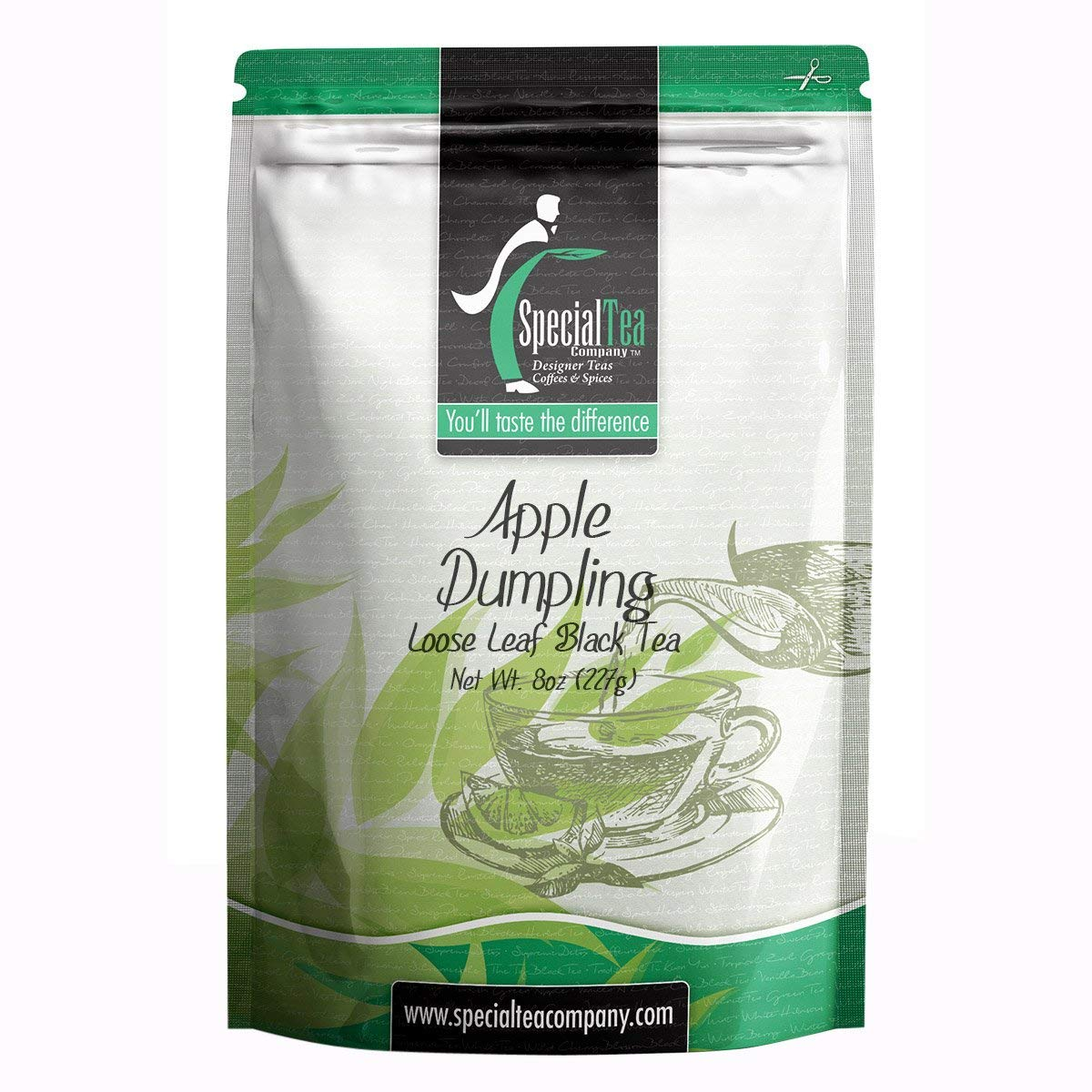 Special Tea Company Apple Dumpling Loose Leaf Black Tea, 8 oz.