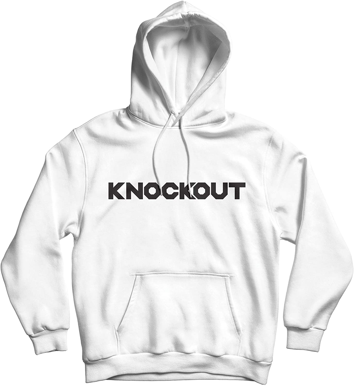 Knockout Hoodie, Men's Fleece Hooded Sweatshirt