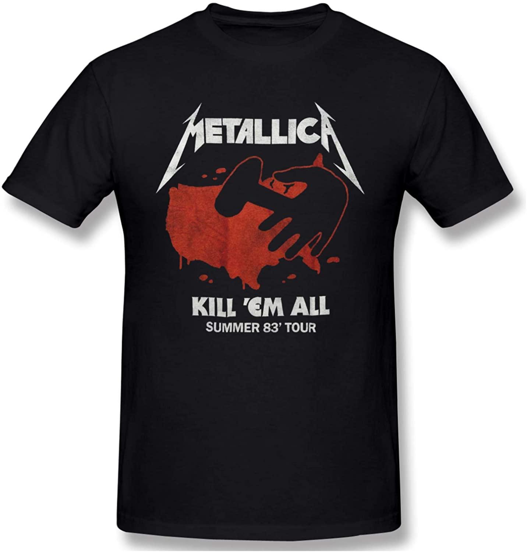 All Summer Tour Killem Rock Band Men's Trend Hip Hop Preferred Round Neck T-Shirt