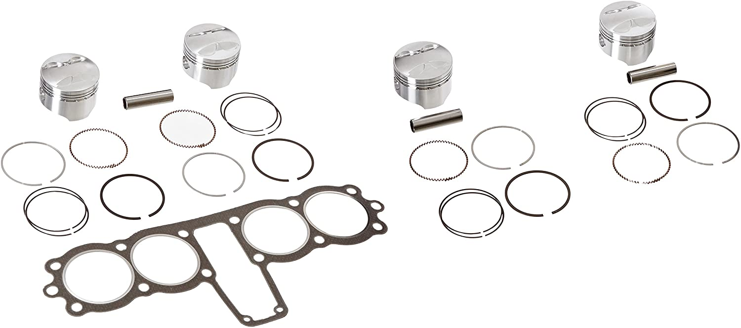 Wiseco (K1123 72.0mm 10.25:1 Compression Ratio 4-Stroke Motorcycle Top End Piston Kit