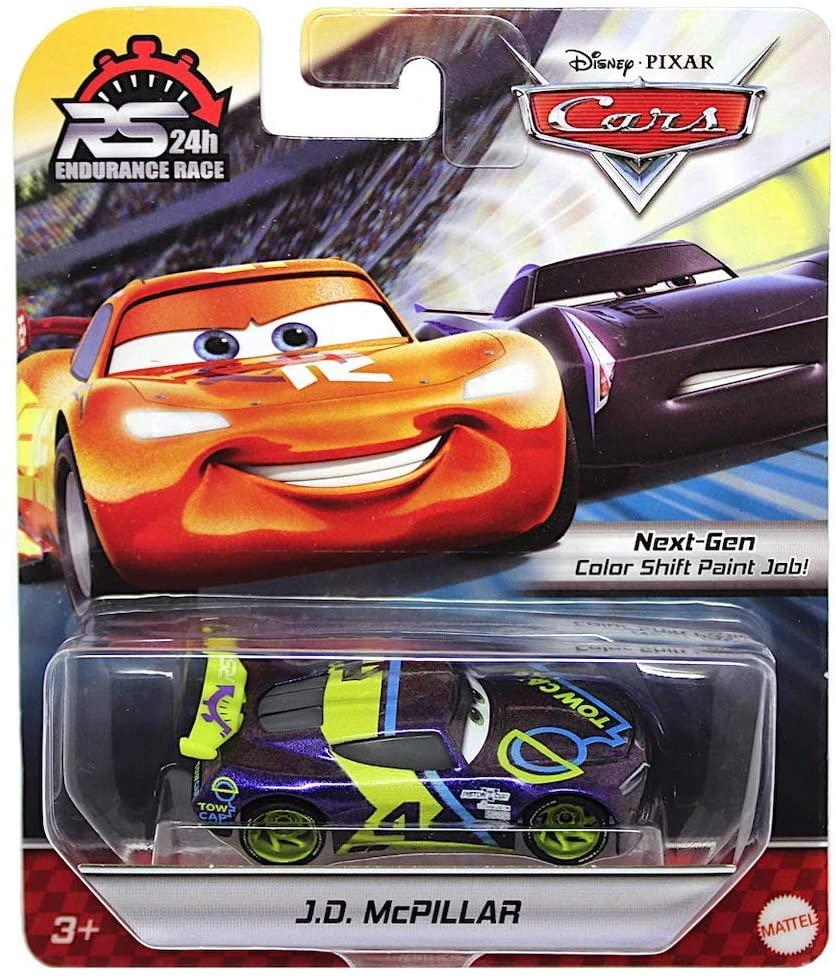 J.D. McPillar Disney Cars 24 Hour Endurance Race 1/55 Scale Diecast