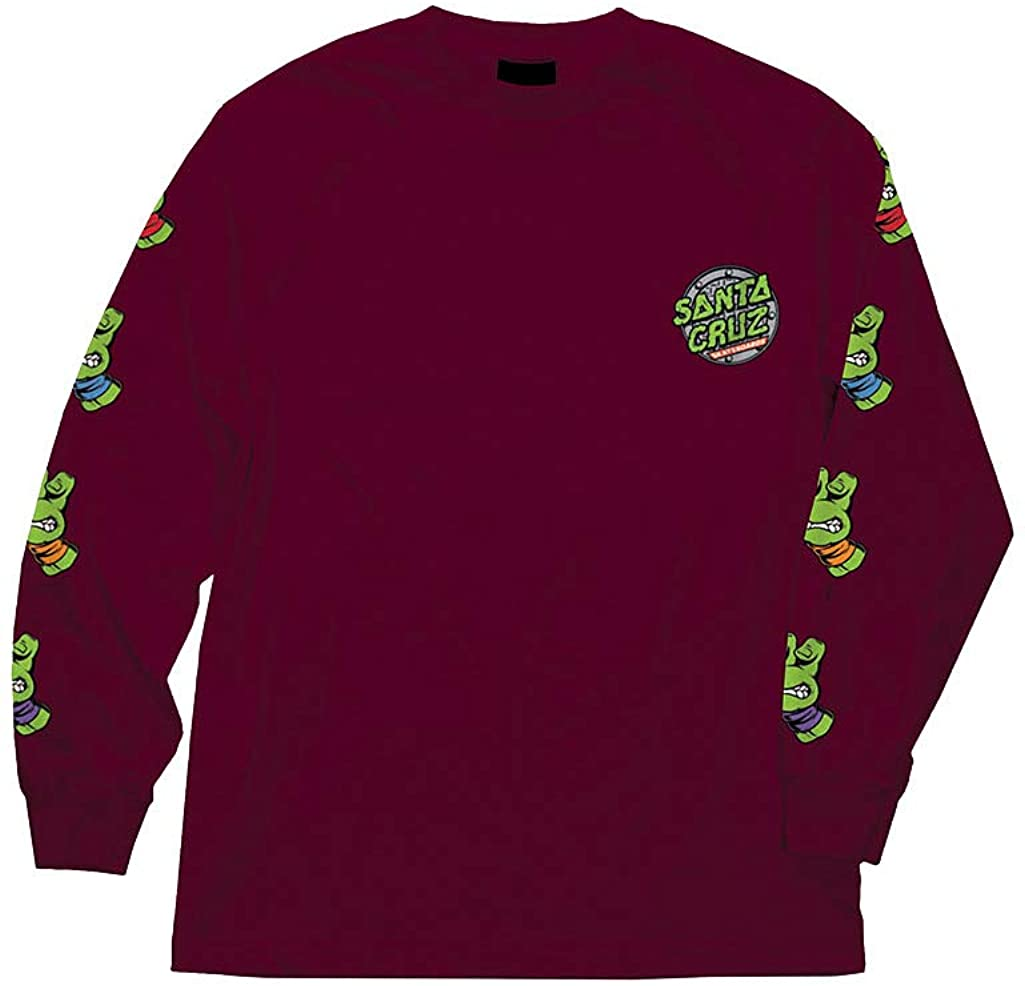 Santa Cruz Men's TMNT Sewer Dot L/S Shirts