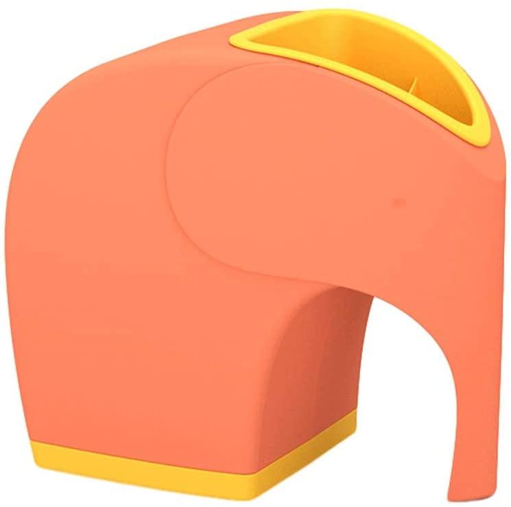 ZJY Tissue Box Creative Desktop Drawer Multi Function Household Paper Towel Tube Living Room Tea Table Storage (Color : Orange)