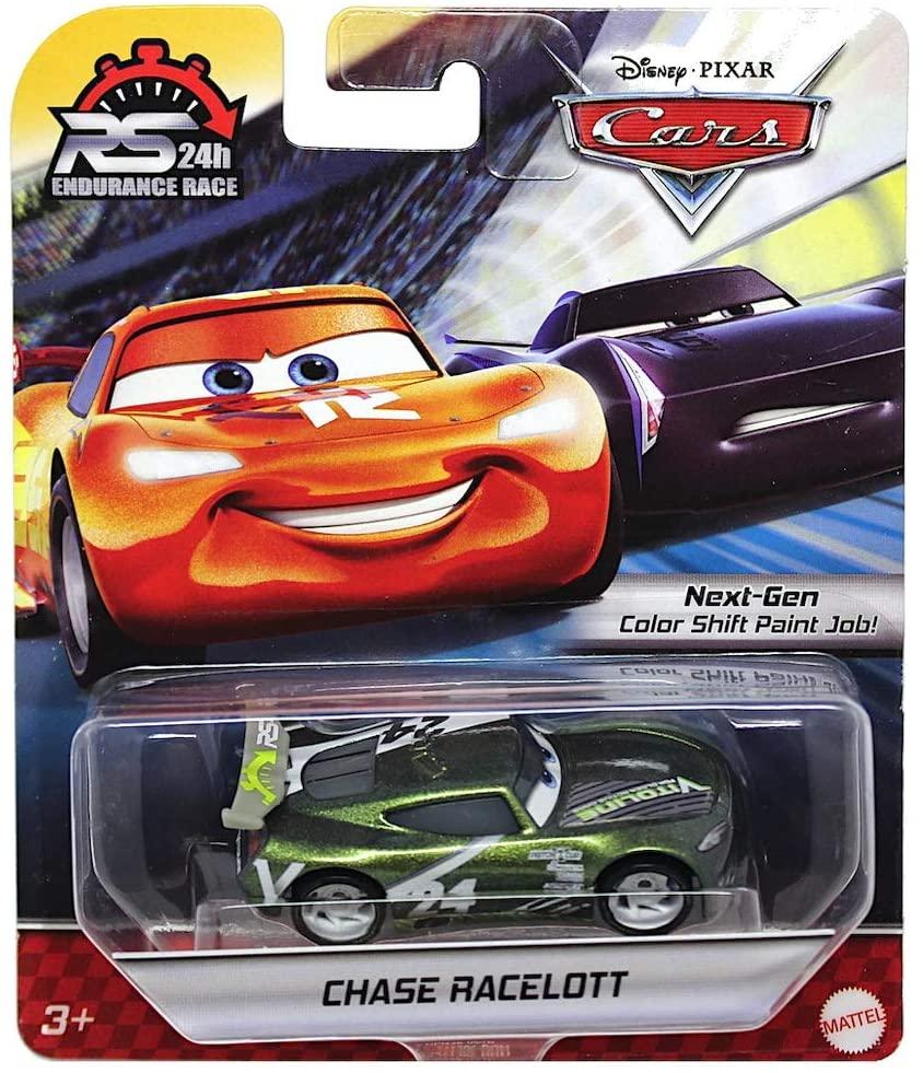 Chase Racelott Disney Cars 24 Hour Endurance Race 1/55 Scale Diecast