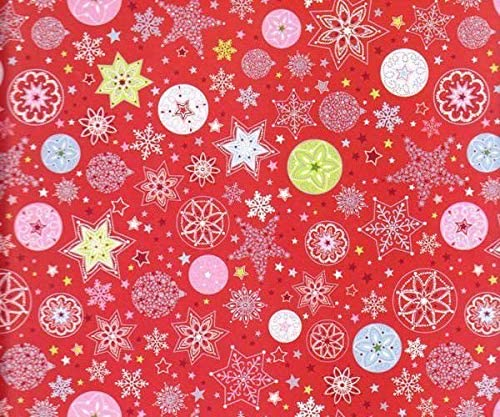 Photo Card 25x35cm Single Sided Red with Flakes 300g / M2, Art Paper, Art, Heyda, A4, Single Papers, Printing, Scrapbooking