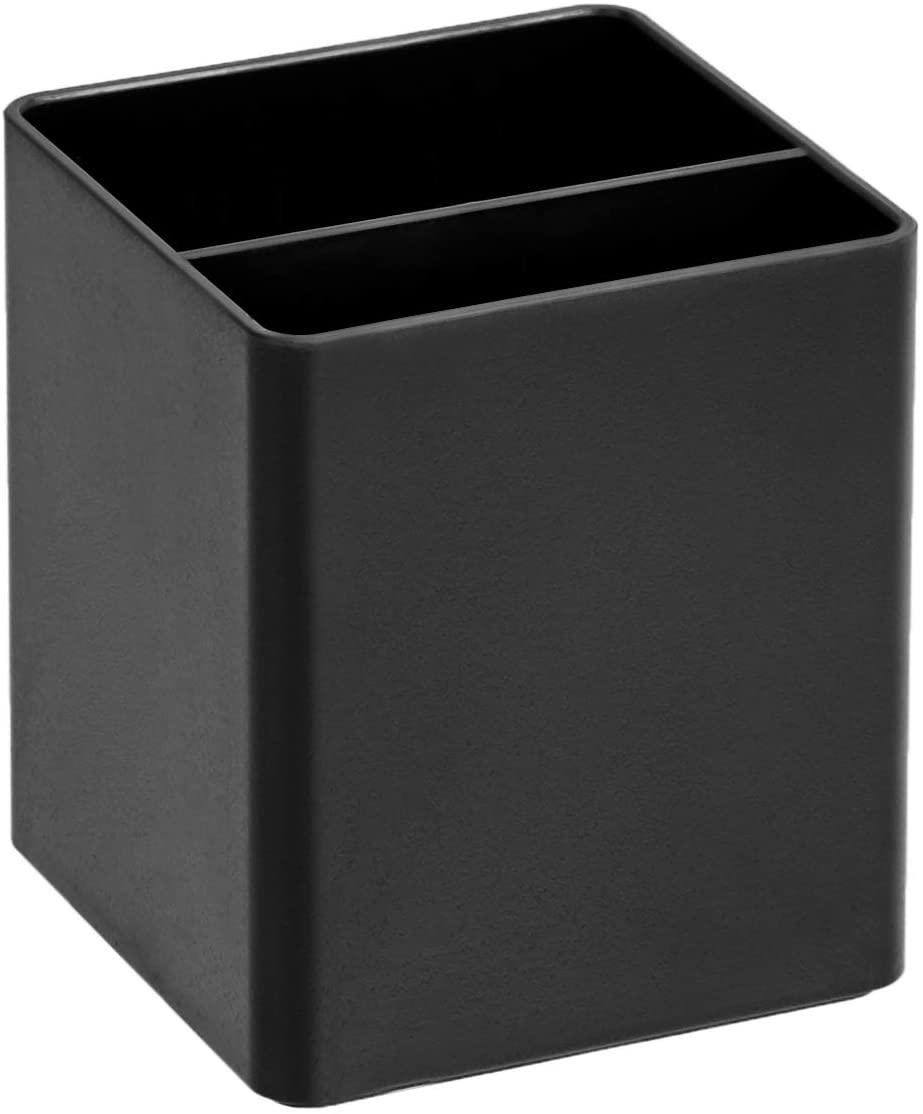 DHgateBasics Plastic Desk Organizer - Pen Cup, Black