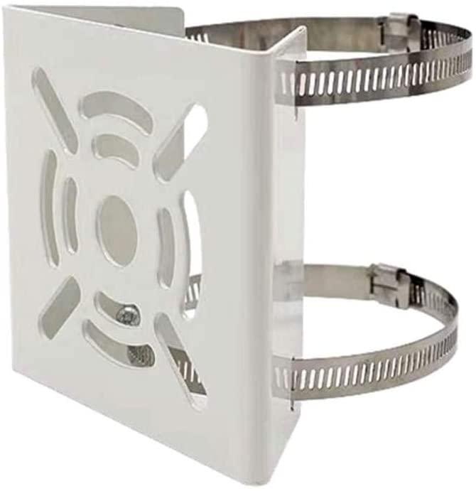 Ares Vision Universal CCTV Camera Metal Pole Mount Junction Bracket (1 Pack)