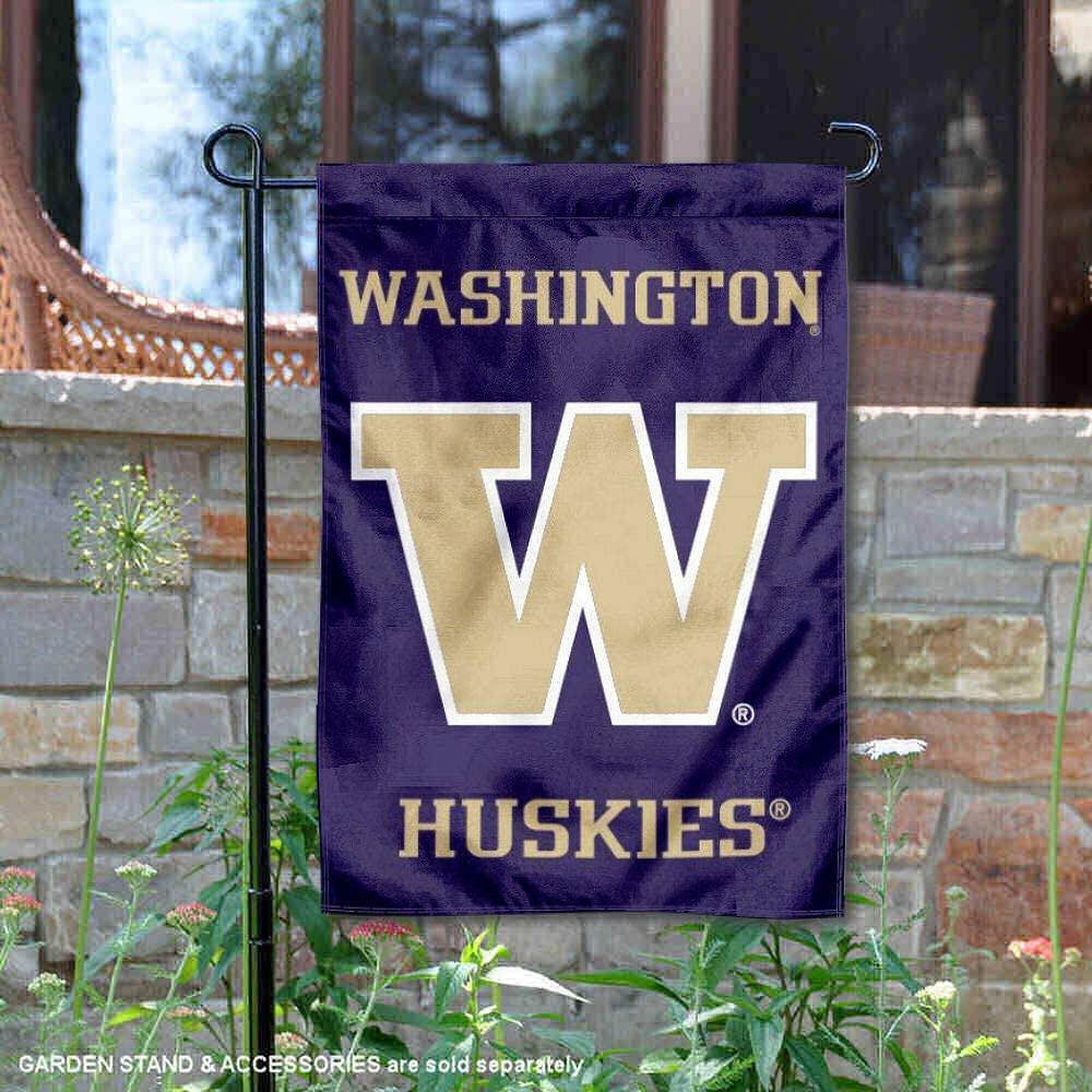 College Flags & Banners Co. Washington Huskies Garden Flag