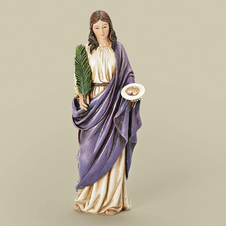 Joseph Studio Renaissance Saint Lucy Lucia of Syracuse Religious Figurine 66958